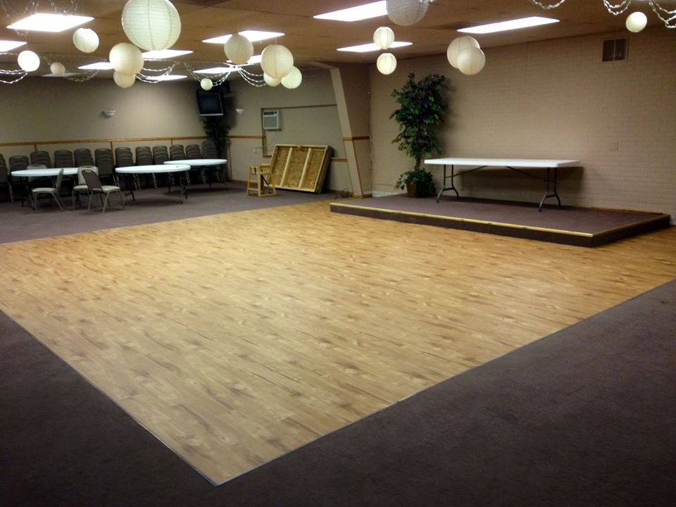 Dance Floor Refinished