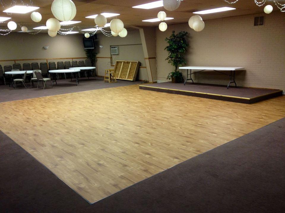 Dance Floor Refinished