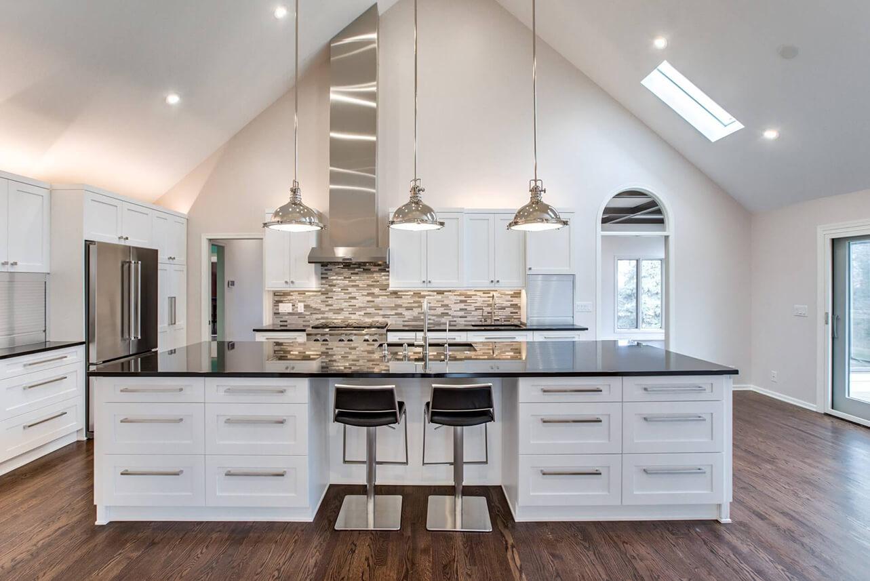 custom renovations custom kitchen redesign lincoln ne