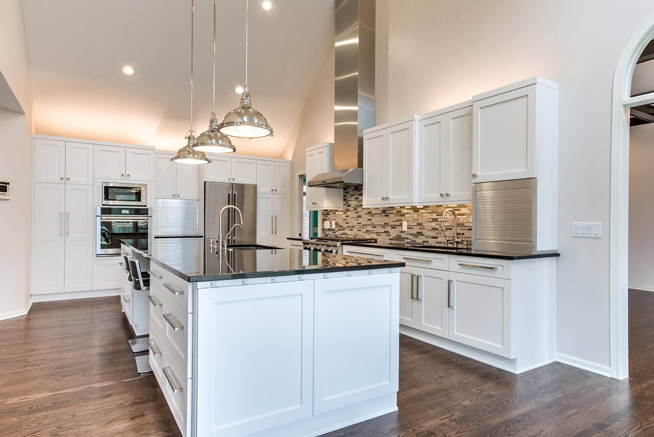 Superbe Custom Renovations, Custom Kitchen Redesign Lincoln NE · Custom White  Kitchen Remodel, ...