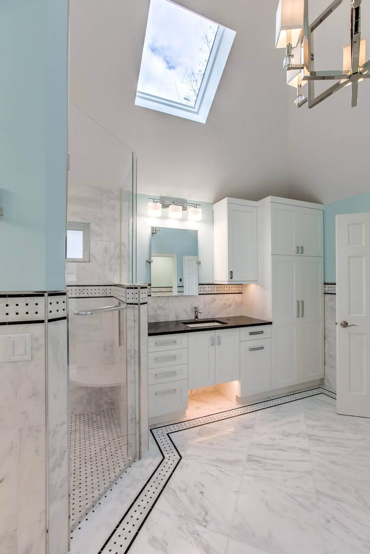 custom renovations master bath