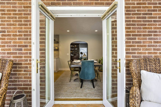 french doors remodel