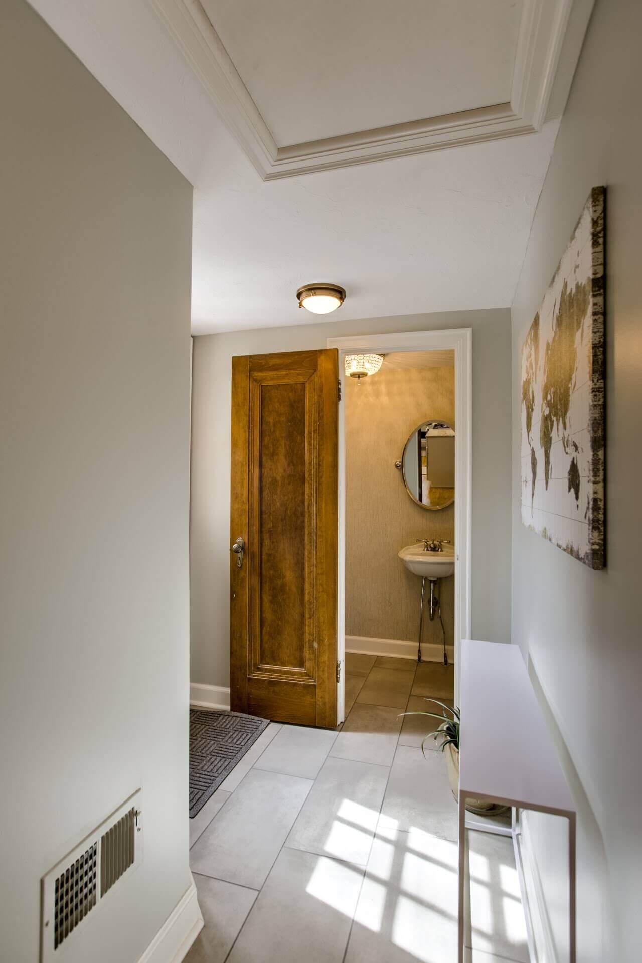entryway renovation