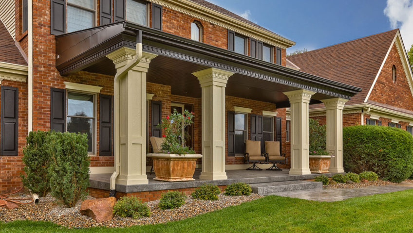 front porch pillars