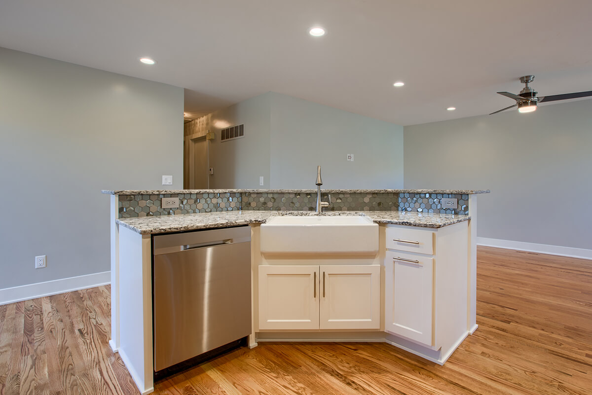 residential kitchen remodel - russell remodeling - lincoln